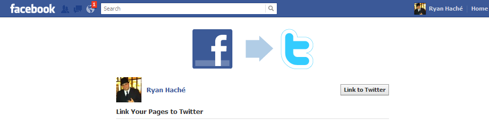 how to automatically post your facebook status updates to twitter1 How to Automatically Post Facebook Status Updates to Twitter
