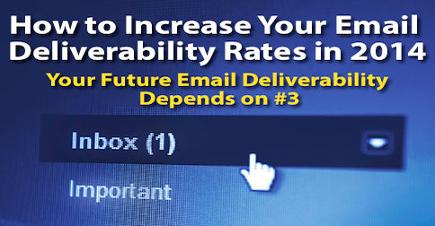 How to Increase Your Email Deliverability Rates ( Your Future Email Deliverability Depends on #3 )