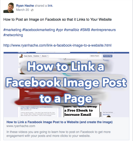 how-to-link-a-facebook-image-post-to-a-page